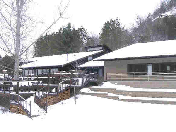 Retreat Center in Winter